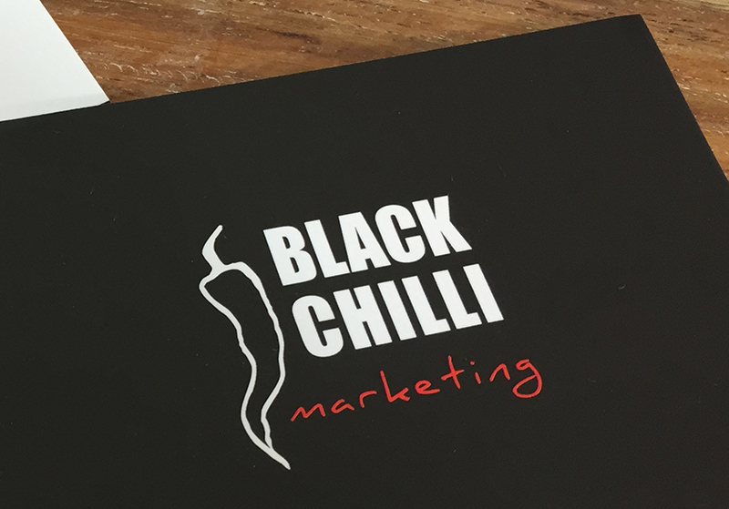 Logo Design for Black Chilli Marketing