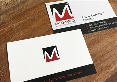 Business Card design for MSquared