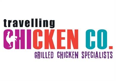 Logo design for 'The Travelling Chicken Company'